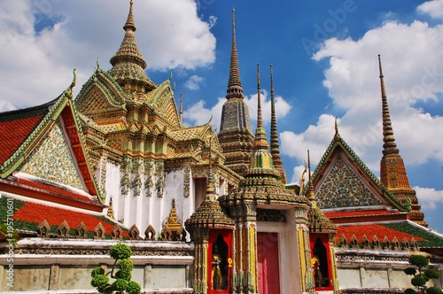 Foto op Canvas Bangkok Bankok/ Thailand ~ temple