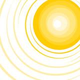 Hot sun background - 195711489