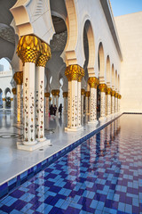 The Sheikh Zayd Mosque. Abu Dhabi. United Arab Emirates
