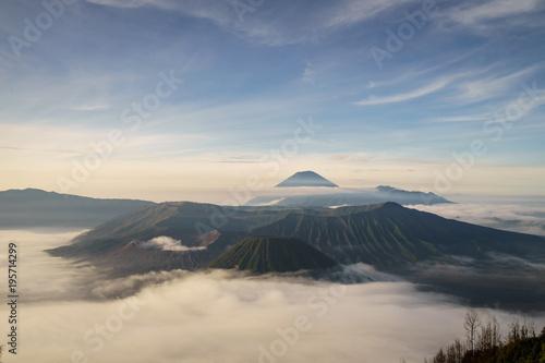Foto op Aluminium Ochtendgloren Mount Bromo volcano (Gunung Bromo) in East Java Indonesia