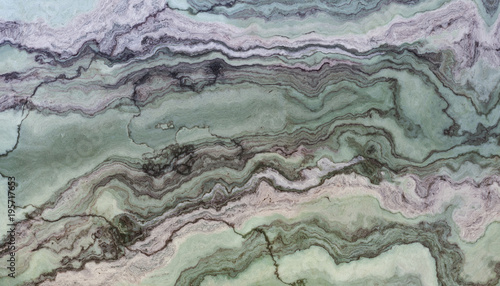 Green marble texture - 195717653