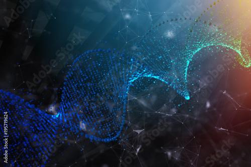 Creative DNA backdrop