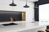 Luxury kitchen studio interior - 195719849