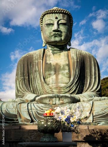 In de dag Boeddha Great Buddha of Kamakura