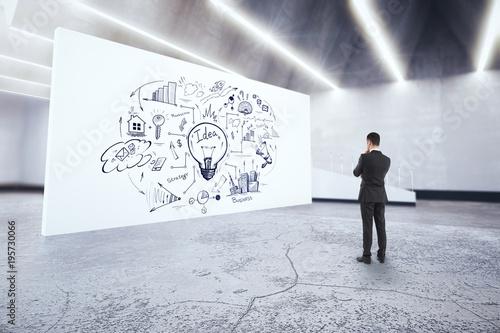 Leadership and workshop concept