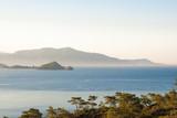 Seascape with islands. Mediterranean Sea near Göcek,Dalaman and Fethiye, Turkey. - 195734053