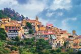 Beautiful landscape of Savoca village on mountain