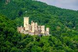Stolzenfels Castle at Rhine Valley near Koblenz, Germany. - 195738635