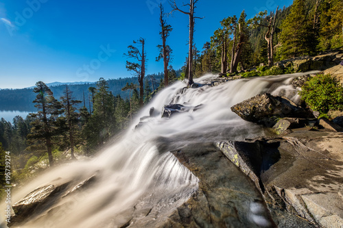 Eagle Falls at Lake Tahoe - California, USA - 195739274