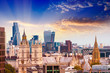 London skyline, old and new - 195742876