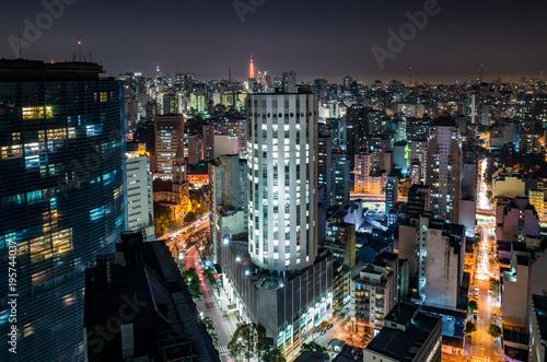 Sao Paulo Downtown Aerial - Brazil © Thiago