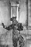 Beautiful masks in carnival of Venice.