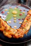 Grilled crab legs - 195753414