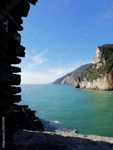 Fotobehang Liguria Portovenere