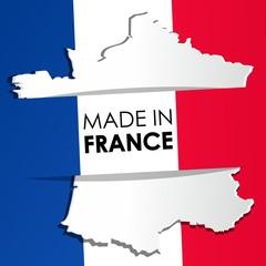 Made in France vector illustration