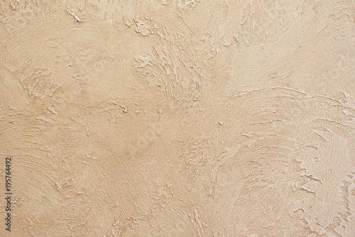Piękna teksturowana ściana beżowy kolor. Szorstkie i przetarte