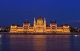 Budapest Parliament building at night. Hungary - 195778867
