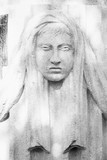 Goddess Hera is eldest daughter Kronos and Rei, sister and wife of Zeus. (ancient statue) - 195787274