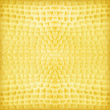 yellow gold artificial leather texture as background