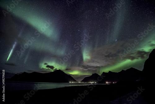 Plexiglas Noorderlicht Norway Aurora