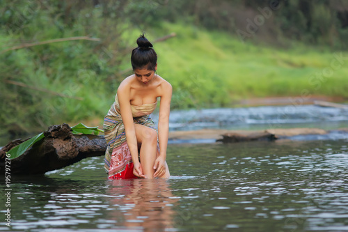 Rural people daily lifestyle. - 195797276