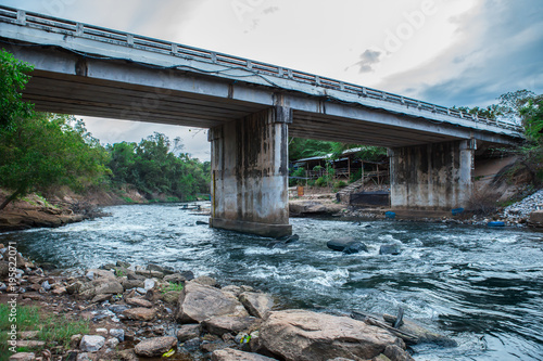Construction Industry, Construction Site, Industry, Bridge - Built Structure, Scaffolding - 195822071