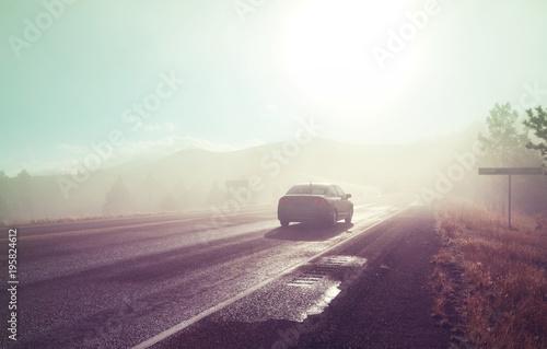 Aluminium Galyna A. Misty road