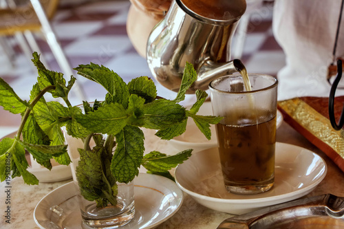Papiers peints Maroc Traditional Moroccan tea