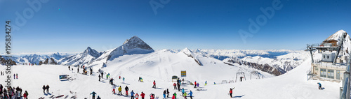 Hintertuxer Gletscher Panorama - 195834274