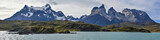 Lake Pehoe and Los Cuernos (The Horns), National Park Torres del Paine, Chile