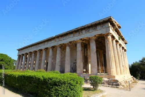 Tuinposter Athene ギリシャ、アテネの神殿