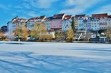 Wil, Stadtweiher mit Altstadtpanorama - 195848201