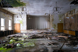 Abandoned Ballroom in Decay - 195848421