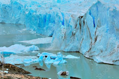 Papiers peints Antarctique Edge of Perito Moreno glacier.