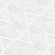 3d background in white shades with triangular elements