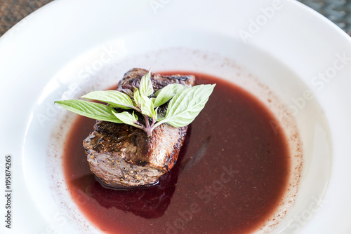 Fotobehang Steakhouse Fillet Mignon