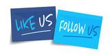 Like us and follow us - 195879455