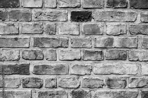 Tuinposter Baksteen muur Mur