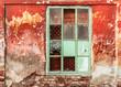 brick vintage windows