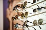 sunglasses in the shop - 195888836