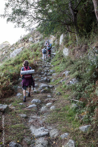 Foto op Canvas Napels Italy, island of ischia monte epomeo