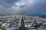 Downtown Reykjavik, Iceland during winter - 195915435