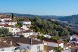 Obidos, Portugal. December 2, 2017. Urban scene of the beautiful and small town of Obidos, in the interior of Portugal. - 195930697