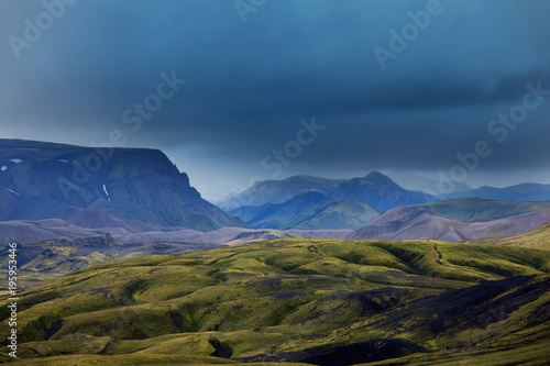 Aluminium Galyna A. Mountains in Iceland