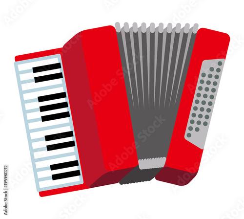 Fototapeta Accordion -Musical Instrument