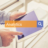 SEARCH TECHNOLOGY COMMUNICATION  Analytics TABLET FINDING CONCEPT - 195966889