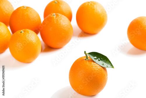 Fototapeta Some of orange fruits.