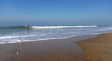 Surfers on wave in Lacanau beach - 195994267