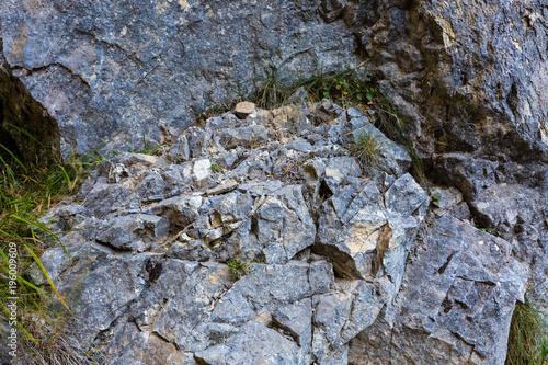 Fotobehang Stenen broken stones