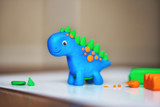 children's crafts from plasticine